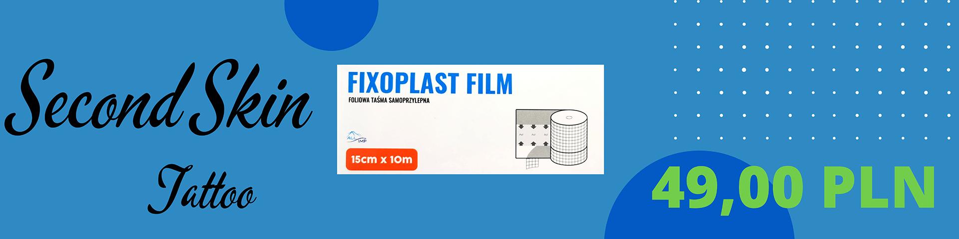 Second Skin Tattoo Fixoplast film 49PLN